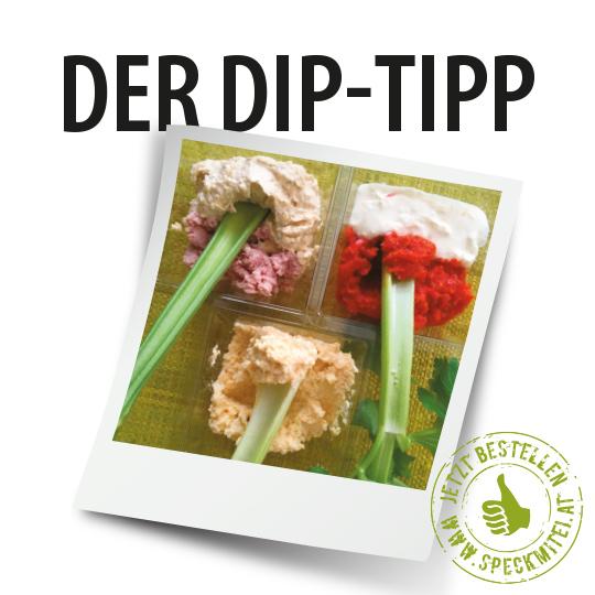 Der sommerliche Dip-Tipp